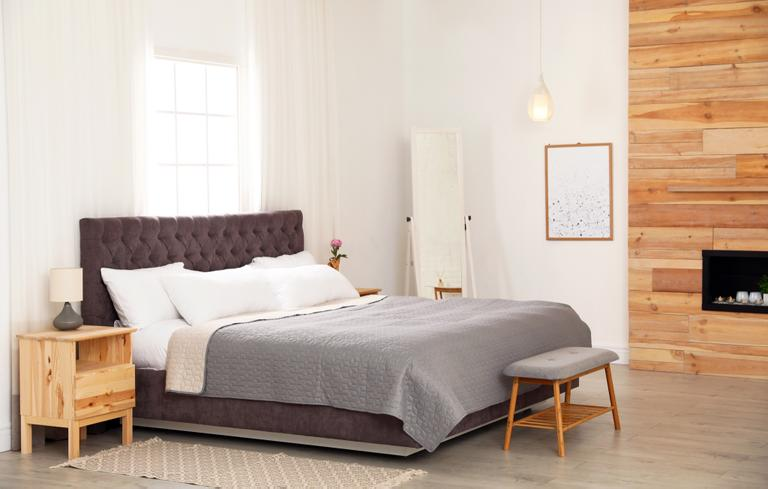Camera da letto in stile nordico - Instapro