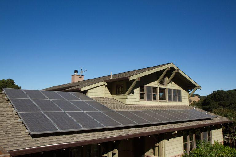 pannelli solari termici sul tetto