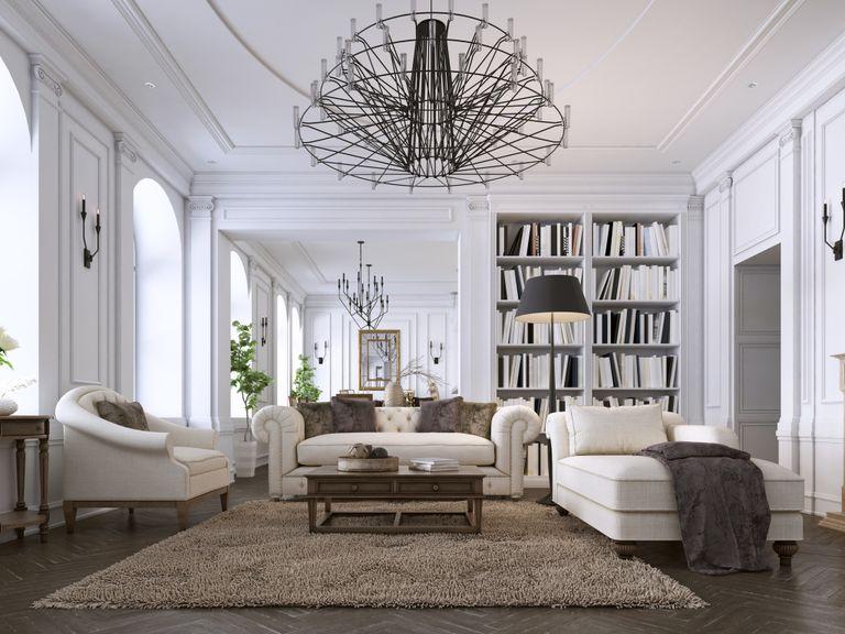 Colori pareti soggiorno classico - Instapro