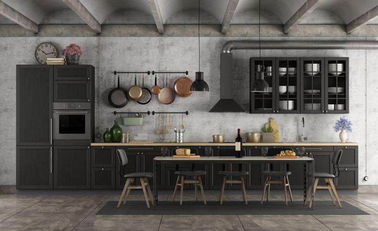 Cucine effetto cemento: stili e tipologie - Instapro