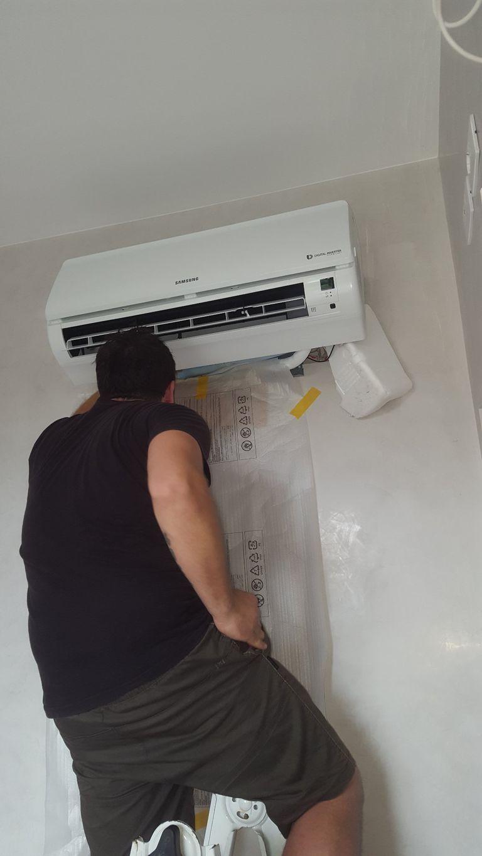 Installazione climatizzatore Samsung