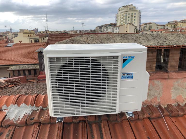 Installazione climatizzatore con tecnologia inverter