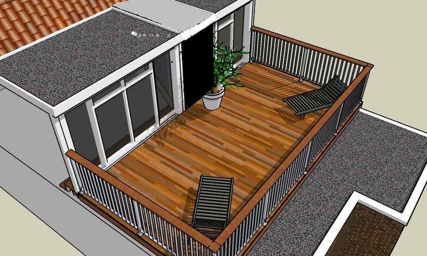 terrazza sul tetto