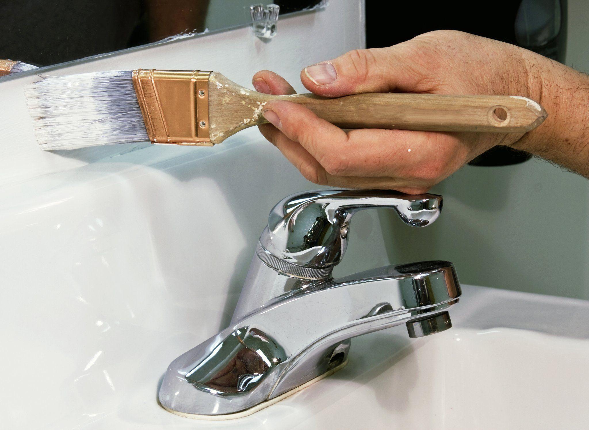 Verniciare il bagno
