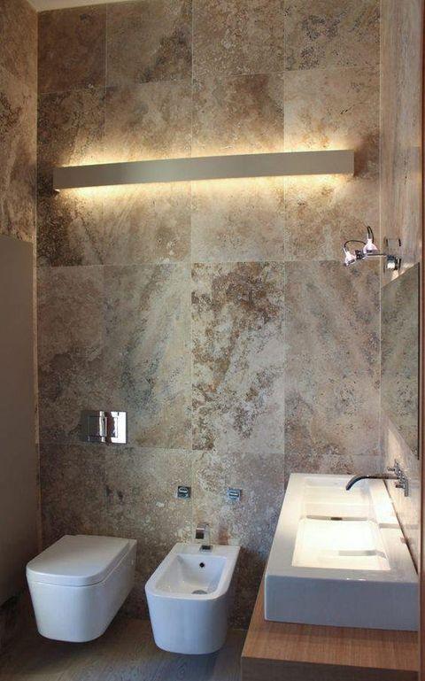 Bagno Moderno In Pietra.Le Migliori Idee Per Rivestimenti Bagno Moderni